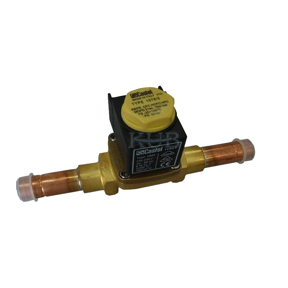 1078/5 16mm Ac Solenoid Valve Robust Design Compact For Cold Storage Room