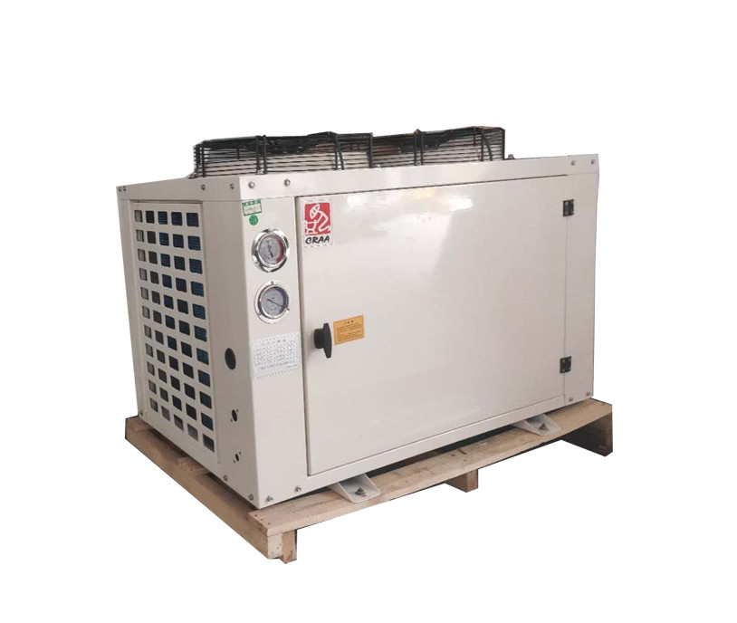 3hp R404A U Type Bitzer Semi Hermetic Condensing Unit